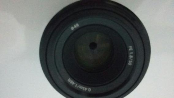 Lente Sony 50mm 1.8 Modelo Sel50f18f