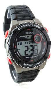Reloj Tressa Digital Bono Sumergible 100m Garantia Oficial