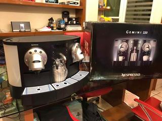 Cafetera Nespresso Capsula Gemini 734 Cs223 Nueva Luz 220