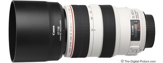 Lente Canon Zoom Lens Ef 70-300mm (1:4-5.6 L Is Usm)