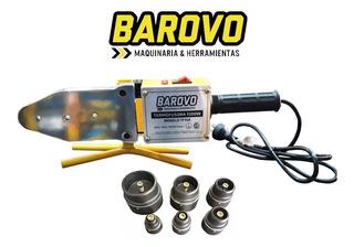 Termofusora Termofusionadora 1500w+6 Boquillas+maletin Metal