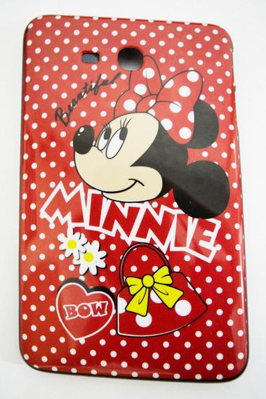 Capa Minnie Tablet Samsung Galaxy T110 T111 T116