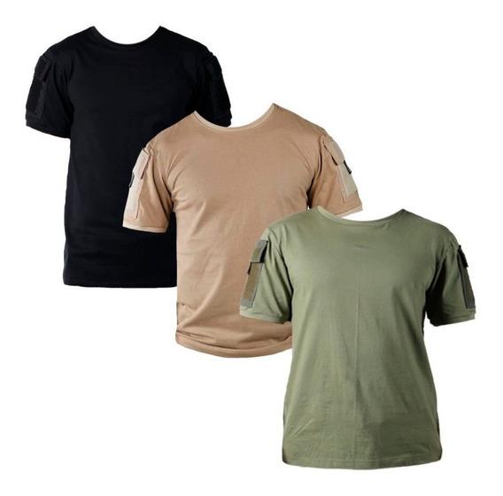 3 Camisetas T-shirt Táticas Masculinas Ranger Bélica