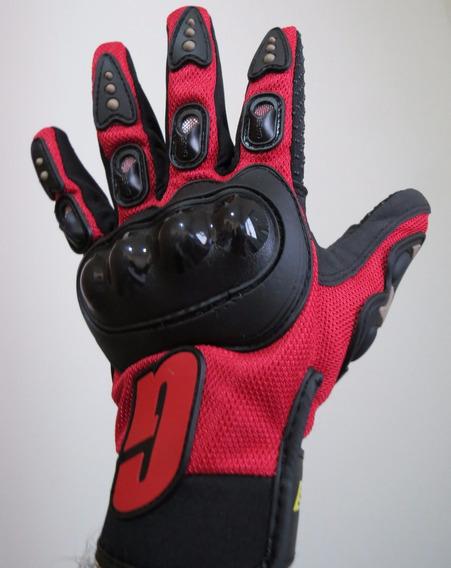 Luva Para Motociclista Moto Com Proteção Hornet Srad R1 R6