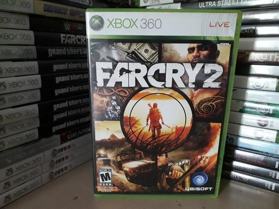 Jogo De Trio Farcry 2 Xbox 360 Original Mídia Física