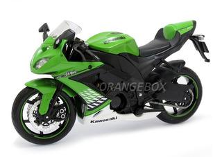 Kawasaki Ninja Zx-10r 1:12 Maisto 31187-verde