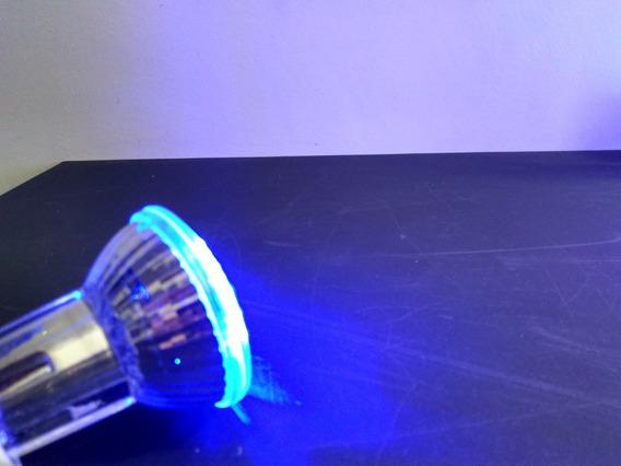 4 Lampada Em Led Azul Festa Balada Ou Cênica 110v
