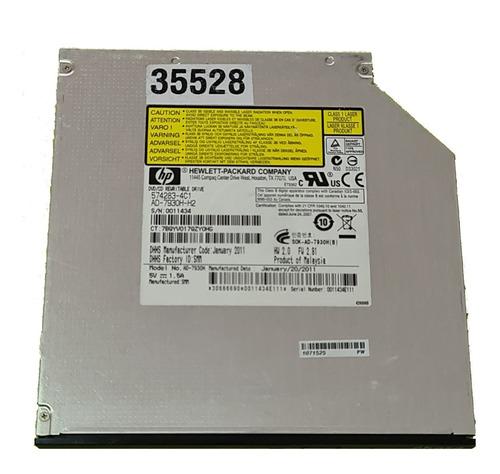 Imagem 1 de 4 de Gravador Dvd Slim Notebook Modelo Ad-7930h 574283-4c1 Sata