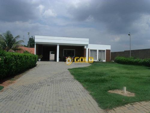 Imagem 1 de 30 de Chácara Com 4 Dormitórios À Venda, 850 M² Por R$ 780.000,00 - Parque Da Represa - Paulínia/sp - Ch0032
