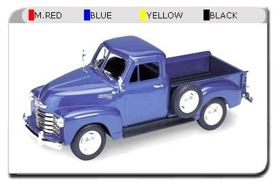 Pick Up Chevrolet 1953 Auto 1:24 Welly Lionels 2087