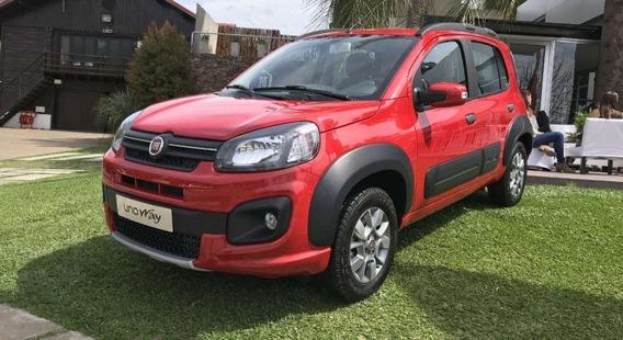 Fiat Uno Way 2019 0km - Anticipo Minimo $74.000 L