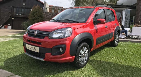 Fiat Uno Way 2020 0km - Anticipo Minimo $74mil O Tu Usado- L