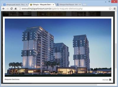 Olimpia Park Resort - Cota De Apartamento De 1 Dorm