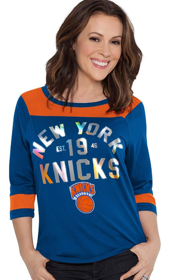 Nba Playera Knicks De New York Para Mujer T-l