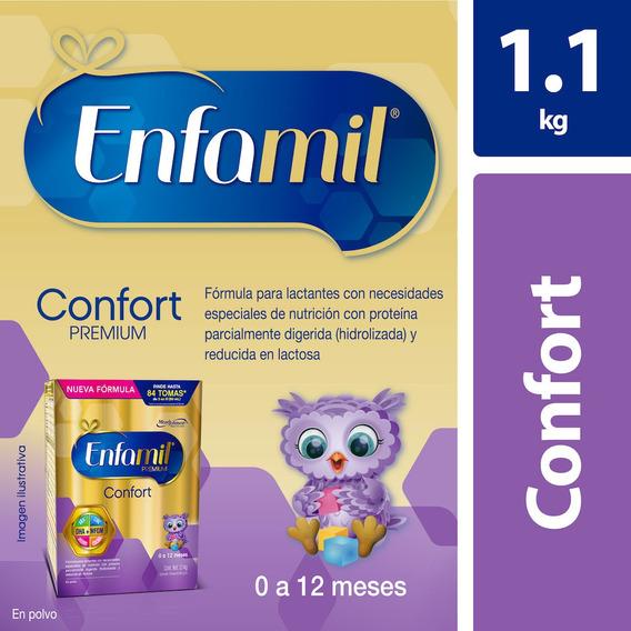 Fórmula Infantil Enfamil Confort 0 A 12 Meses, Caja De 1.1kg