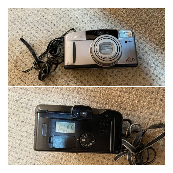 Máquina Fotográfica Canon Z115 Caption Funcionando Bem