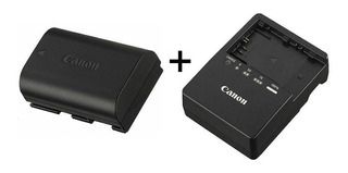 Bateria + Cargador Canon Lp-e6 Eos 5d 5d2 6d 7d 60d 70d 80d