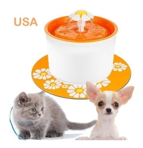 Imagen 1 de 5 de Gato Perro Auto Agua Bebedero 1.6l Hogar Filtro Alimentador