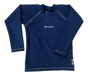 Camiseta Lycra Com Proteção Solar Uv Praia Infantil Grappin