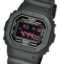 Relógio Casio G Shock Dw-5600ms-1dr Fundo Negativo +frete Nf