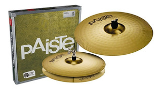 Set Platillos De Bateria Paiste Essential Set Hh 13 Crash 18