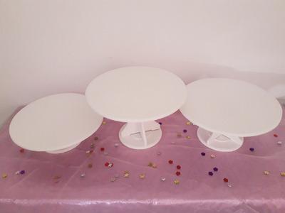 Alquiler Bases Tortas/cupcake/mesas Vintage/mobiliario/candy