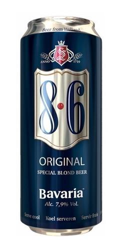 Cerveza Bavaria 8.6 Blond Lata 500cc - Monte Castro