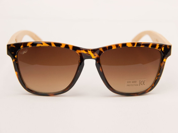 Óculos De Sol Bambu Jaguar Lançado Em Nova York +brinde+case