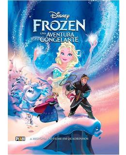 Hq Frozen História Do Filme Em Quadrinhos Capa Dura