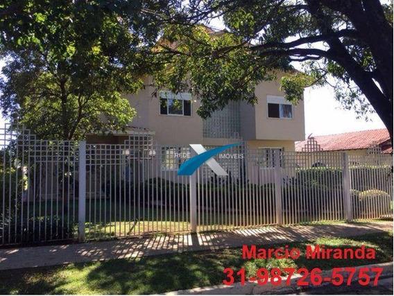 Casa À Venda 4 Quartos Em Condomínio Fechado Braúnas Pampulha - Ca0547