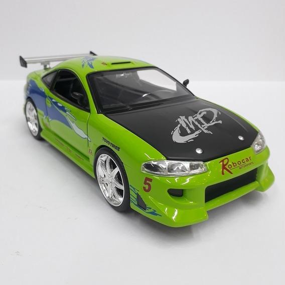 Miniatura Carrinho Velozes E Furiosos Mitsubishi Eclipse