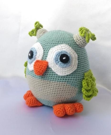 65. Tutorial Amigurumi Búho a Crochet - CTejidas [Crochet y Dos ... | 568x466