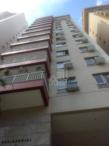Apartamento Com 2 Dormitórios À Venda, 79 M² Por R$ 360.000,00 - Santa Rosa - Niterói/rj - Ap1491