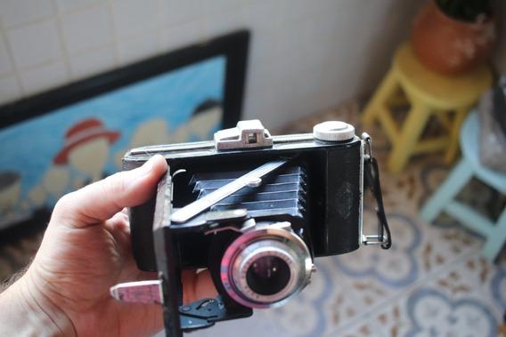 Câmera Antiga Analógica De Fole Agfa Billy I