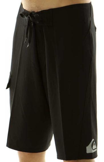 Traje De Baño Boardshort Quiksilver Black Xs T26 77cm Cintua