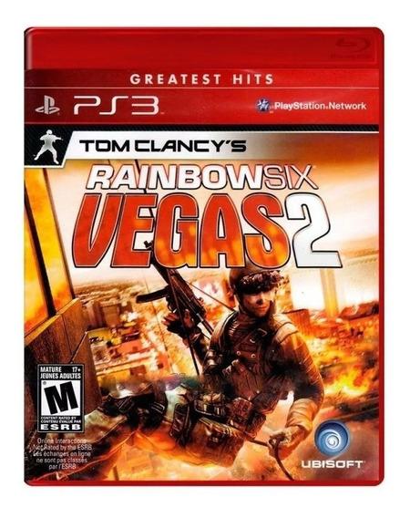 Tom Clancys Rainbow Six Vegas 2 Ps3 Lacrado
