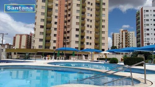 Apartamento Com 2 Dormitórios À Venda, 50 M² Por R$ 170.000,00 - Parque Jardim Brasil - Caldas Novas/go - Ap0811