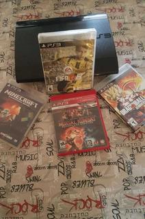 Playstation 3 Super Slim, Con 11 Juegos