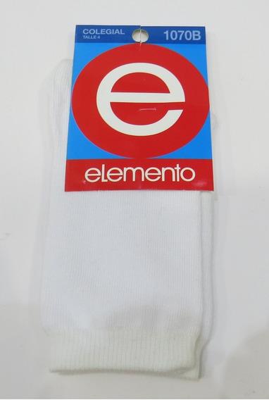 Medias Elemento Colegial 3 Pares Calzados Avenida La Plata