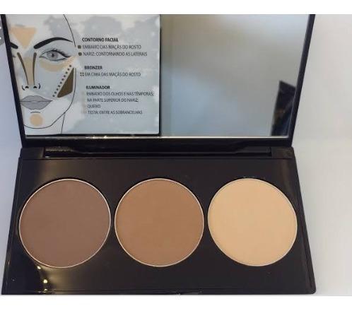 Paleta De Contorno Skin Perfection Glam Eudora Promoção