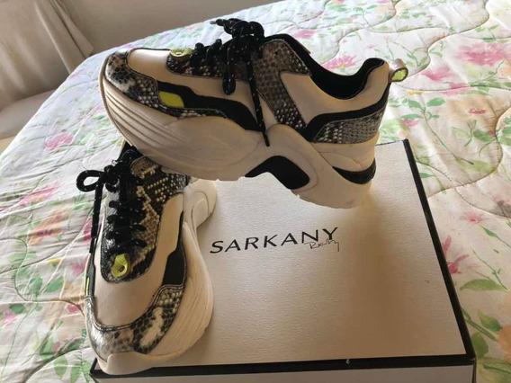 Zapatillas Sarkany Casi Nuevas 39 Modelo Rs63 $3700