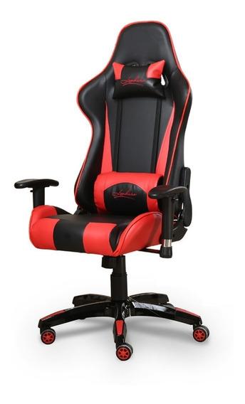 Cadeira Gamer Encosto Reclinável Altura Regulável Cores