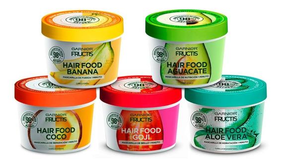 Pack 5 Hair Food Fructis Garnier