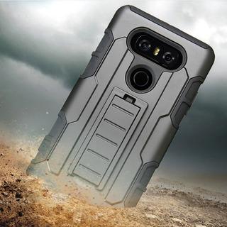 Capa Case Anti Impacto Emborrachada LG G6 H870 Clipe D Cinto