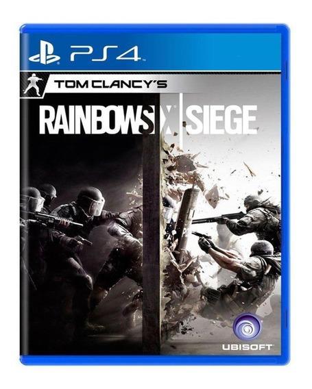Tom Clancys Rainbow Six Siege Ps4 Semi Novo Mídia Fisica