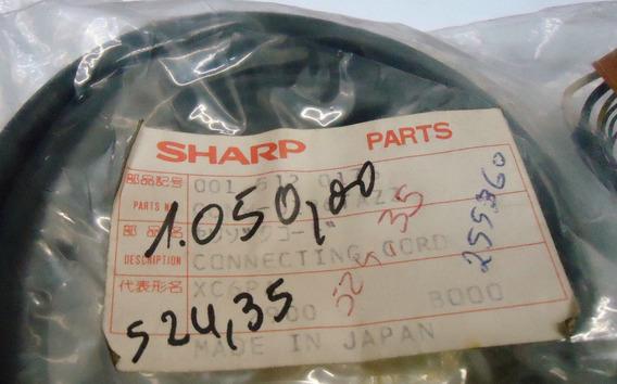 Sharp Cabo De Audio E Video Para Câmera Vídeo Cassete Vhs K7