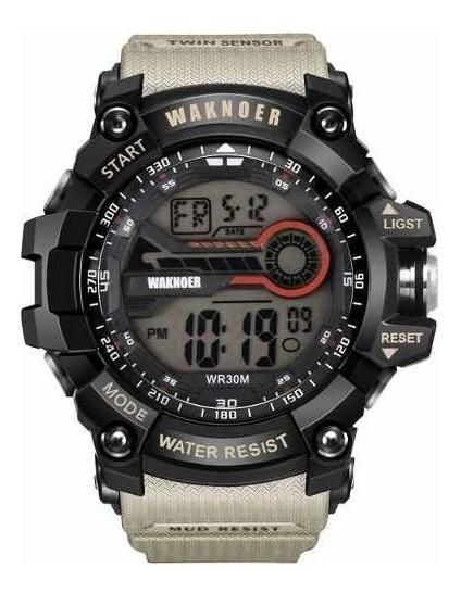 Relógio G-shock Esportivo Waknoer Kiwi Pronta Entrega