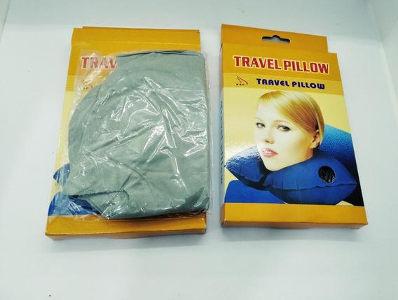 Almohada Inflable Para Viajes X 2 Unidades Travel Pillow.