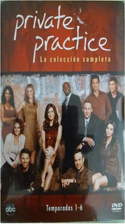 Private Pratice Serie Completa 6 Temporadas Dvd