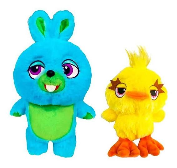 Pelúcias Toy Story 4 - Bunny E Ducky 30 Cm   Mundo Plush Dtc